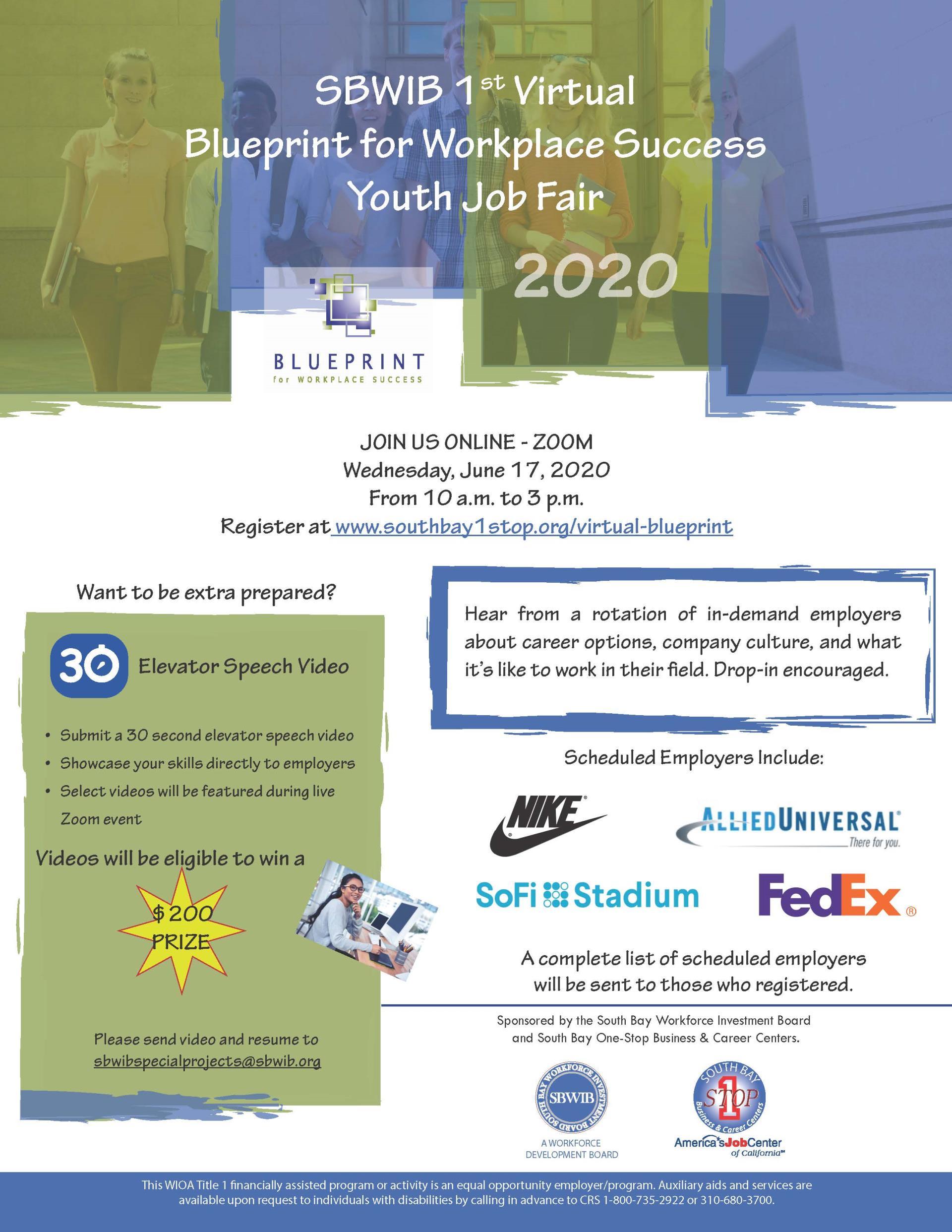 2020 Virtual BluePrint Career Fair_