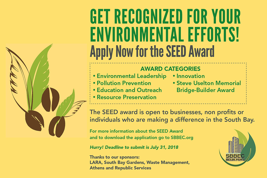 2018 SEED AWARDS SoCal Environmental Excellence Development