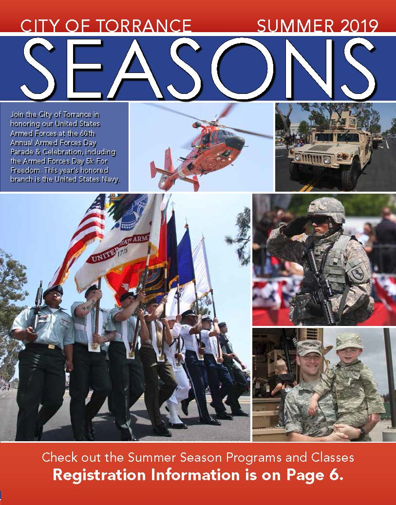 2019 Summer Torrance Seasons Cover