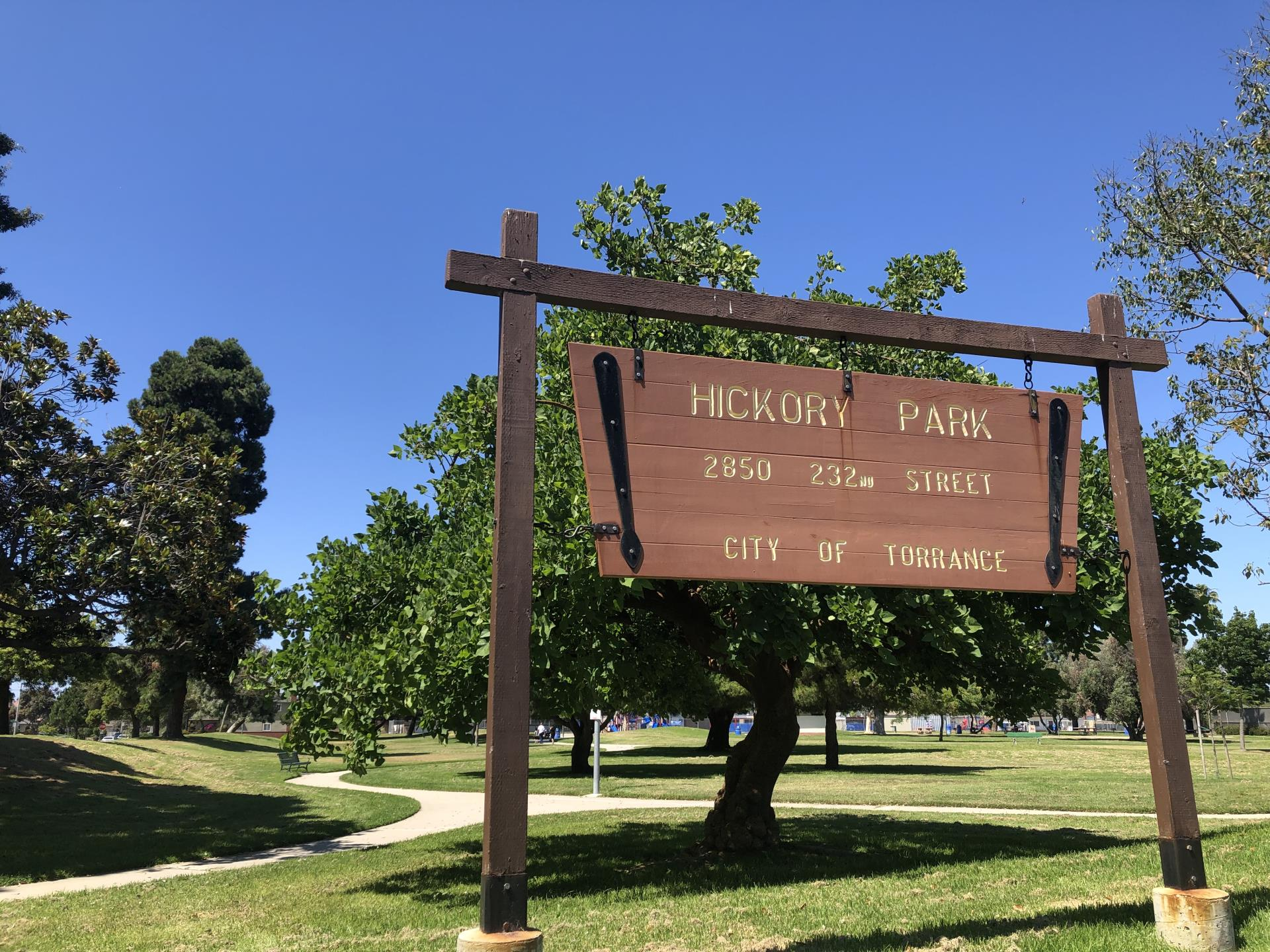 Hickory Sign