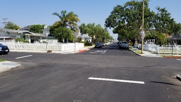 repaved intersection