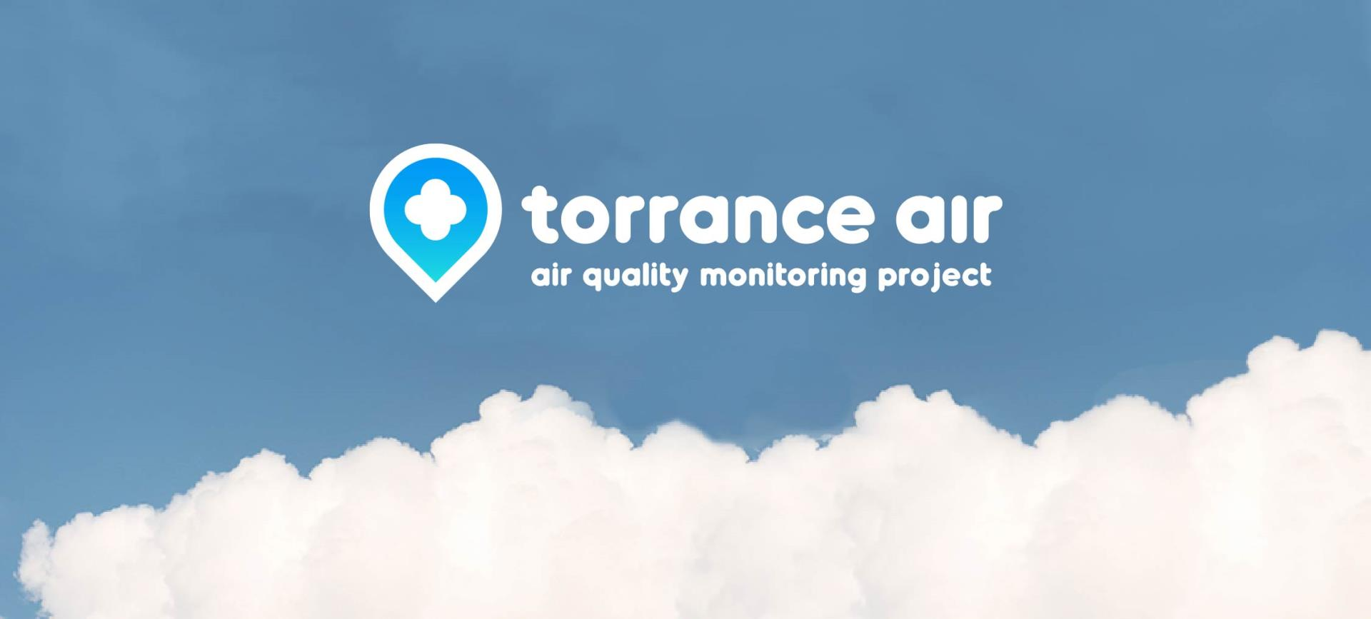 Torrance Air, Air Quality Monitoring Project with clouds