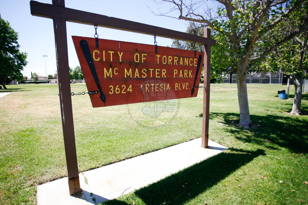 McMaster Park Sign