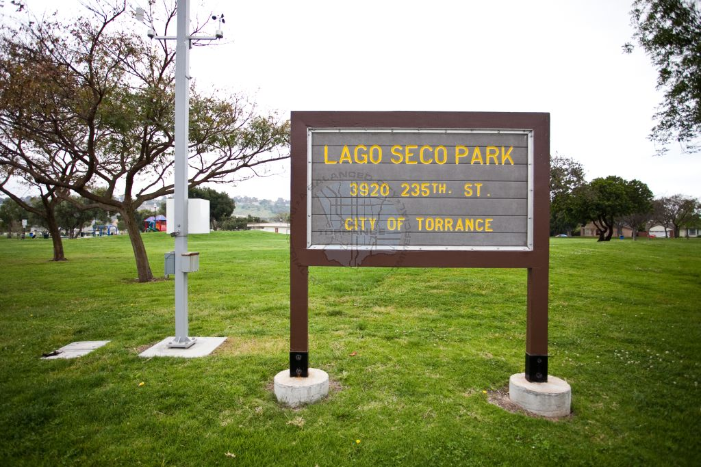 Lago Seco Park Sign