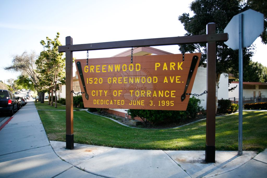 Greenwood Park Sign