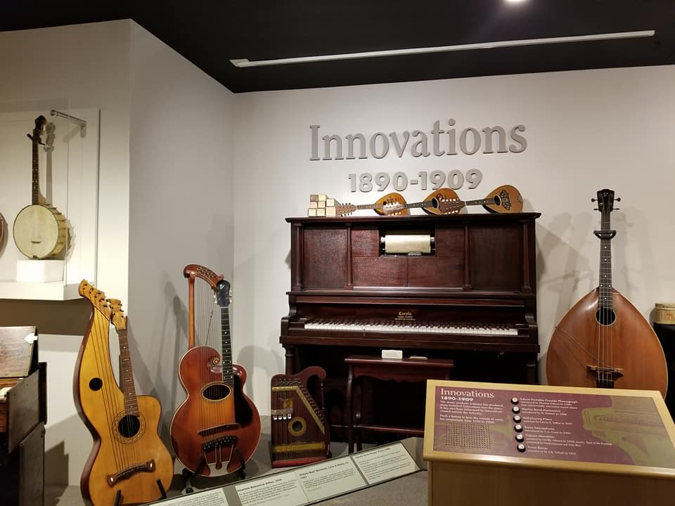 instruments  in Carlsbad Museum