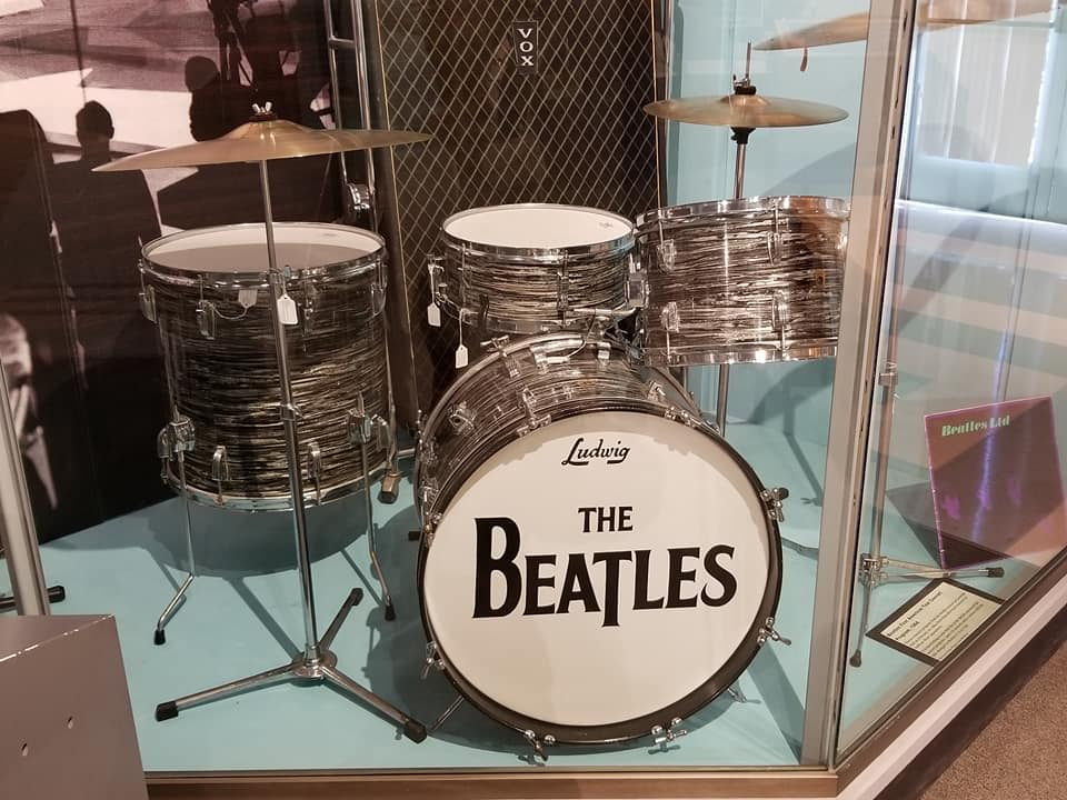 The Beatles Drum Kit