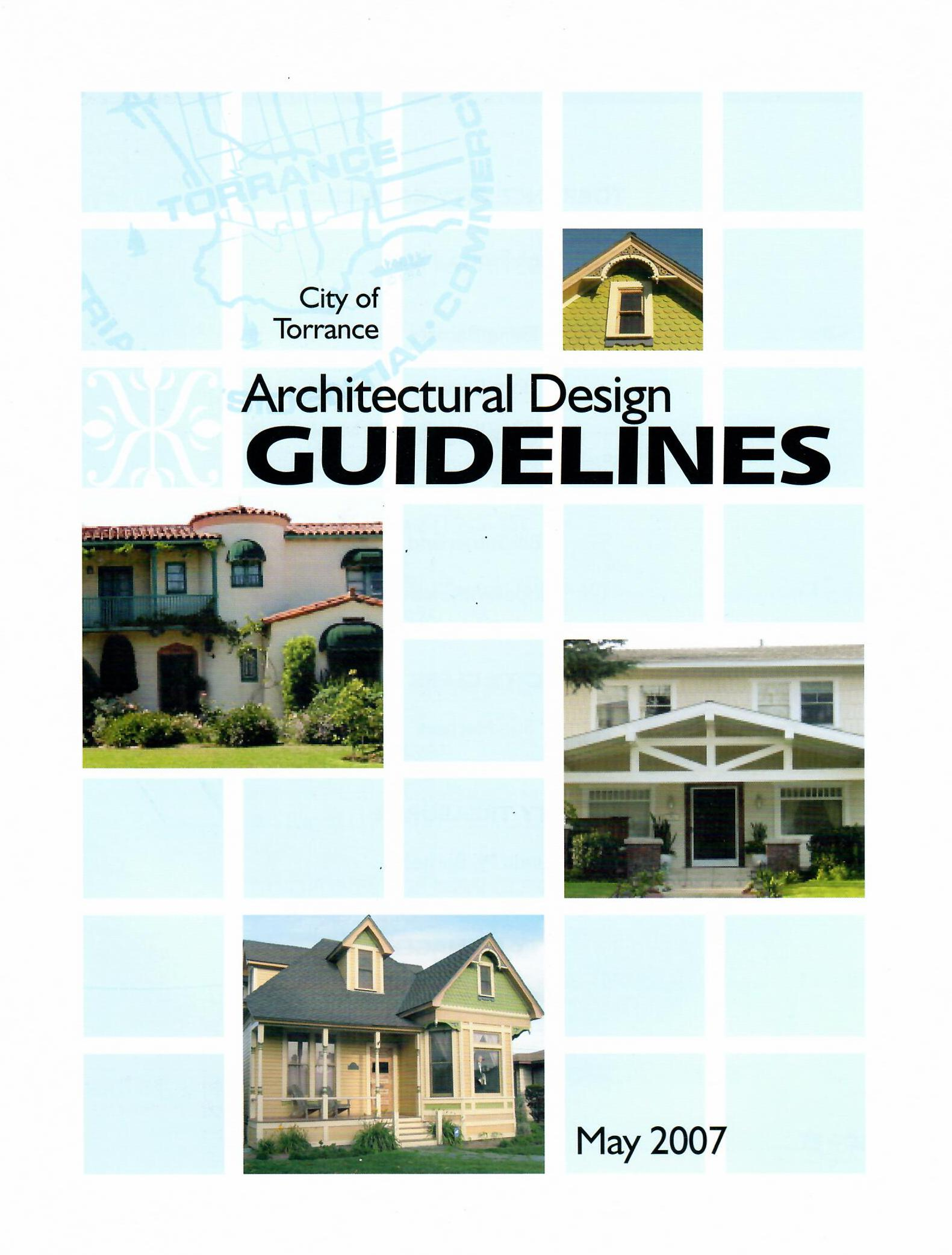 Architectural Design Guidelines