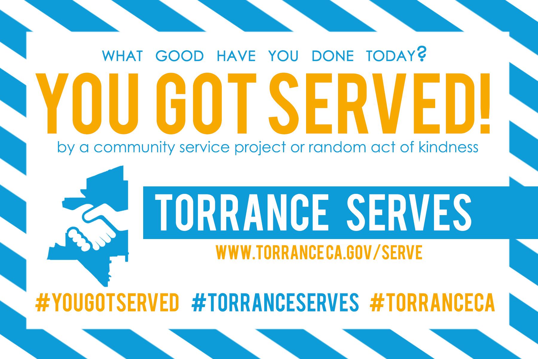 You got served flyer